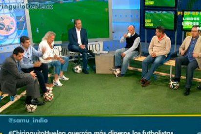 """Pedrerol lamenta que José Luis Sánchez señale a Carvajal por su penalti en Turín: """"¡Qué injustos sois con el chaval!"""""""