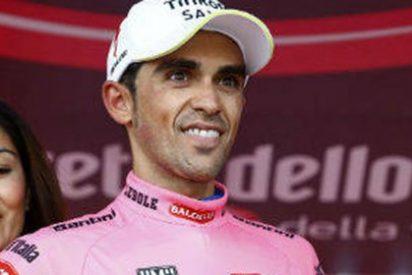 Contador humilla a Aru en el Mortirolo y Landa gana otra vez