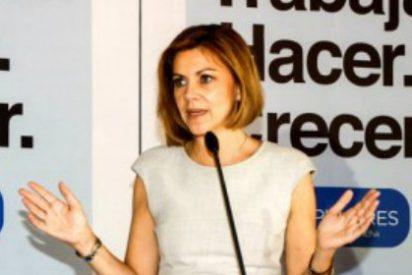 La secretaria general del PP, Cospedal apoya a Aguirre en su denuncia por la filtración de su renta
