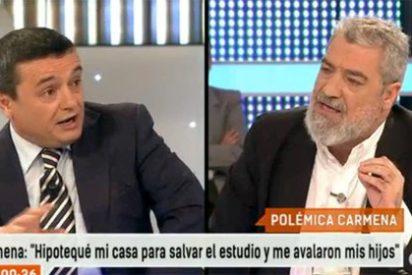 "MAR se troncha del director general de Público: ""¿Va a entrevistar Pablo Iglesias a Carmena en tu página web? ¿O a Tania Sánchez?"""