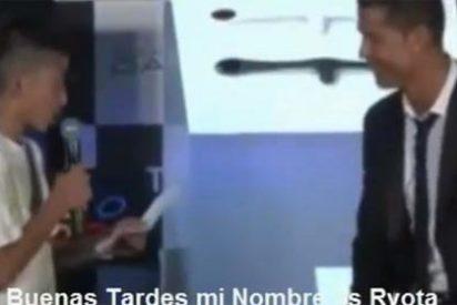 VÍDEO: Cristiano Ronaldo defiende a un niño japonés de las mofas y las burlas del público