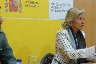 Campaña de control en Extremadura del uso de intermitentes y distancias de seguridad