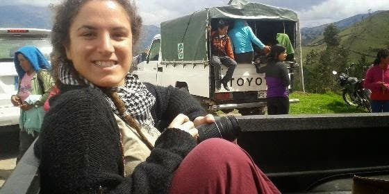 Cristina Sánchez, Premio 'Lolo' al Periodismo Joven de la UCIP-E