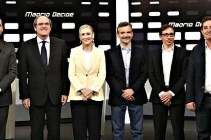 Cristina Cifuentes emerge airosa de un debate marcado por el 'todos contra el PP'