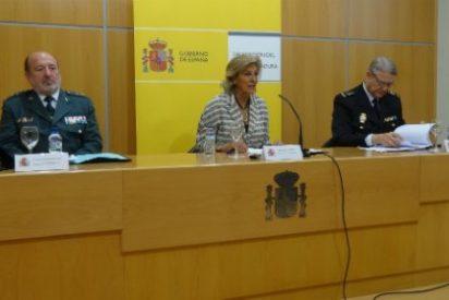 La delincuencia cayó un 1,2% en Extremadura durante el primer trimestre de 2015