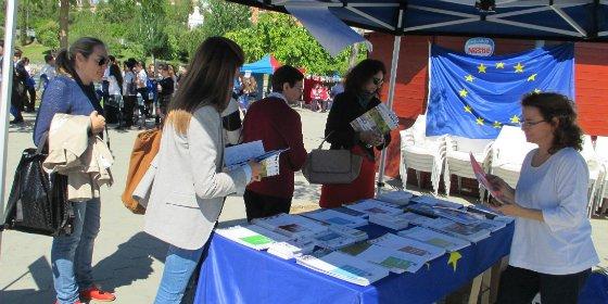 Más de 300 escolares celebran el Día de Europa en el Parque del Rodeo de Cáceres