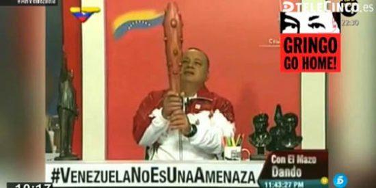 El narco Diosdado Cabello hace alarde por la tranquilidad que impone su dictadura: