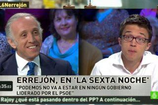 Eduardo Inda se engancha con el podemita Errejón a cuenta de ETA, Venezuela y las 'becas black'