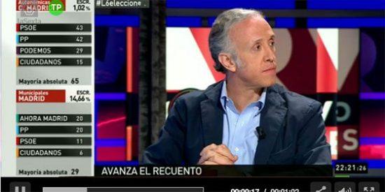 """Eduardo Inda: """"Con estos resultados puede darse la 'ucedización' del Partido Popular"""""""