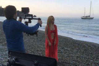 Edurne cantará con este vestido semidesnuda en Eurovision