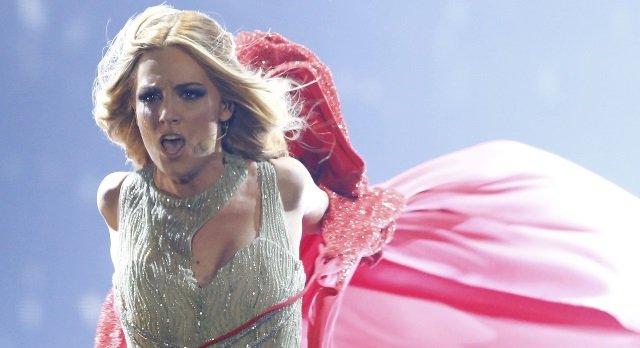 El mensaje de De Gea a Edurne y la pulla a Eurovisión