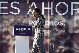 """Un enajenado y quijotesco Pablo Iglesias carga contra el PP: """"¡Ladrones, traidores a la patria!"""""""