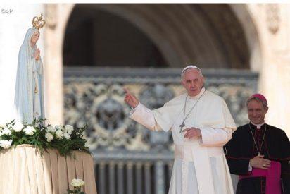 La Virgen de Fátima en la Audiencia General, con el Papa