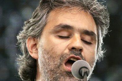 Andrea Bocelli ofrece un concierto en la Sagrada Familia