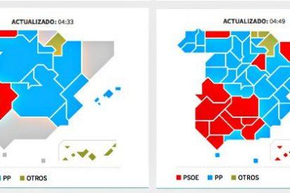 24M: Elecciones sin mayorías que obligan a una segunda vuelta de pactos entre partidos