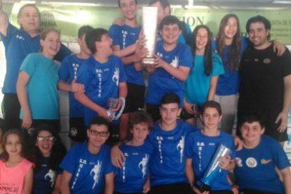 Las Escuelas Deportivas de Mérida ganan en la categoría benjamín masculina de los Judex
