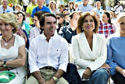 ¿Sabes por qué no coinciden Rajoy y Aznar en los mítines del Partido Popular?