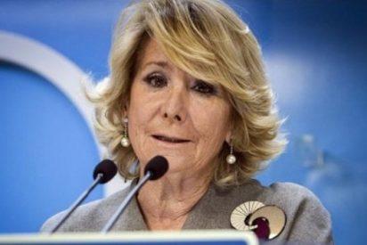 Esperanza Aguirre mete prisa al ministro Montoro para que investigue la filtración de su declaración de renta