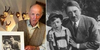El niño que usó Hitler para hacer propaganda nazi es un anciano atormentado