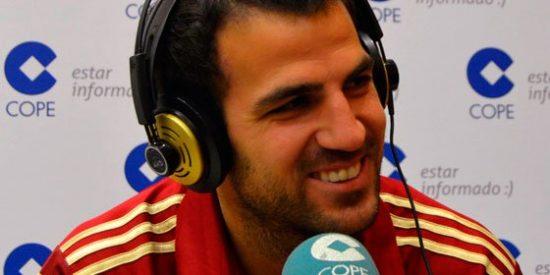 Cesc Fábregas sale en defensa de Iker Casillas