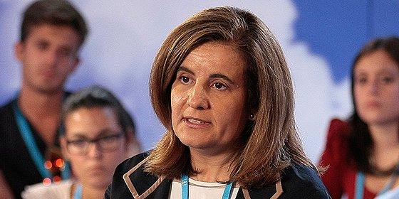 La ministra Fátima Báñez dice que se crearán en España 600.000 empleos este año