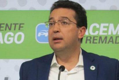 """Fernando Manzano: """"Hoy los extremeños están al lado del presidente Monago y confían en él"""""""