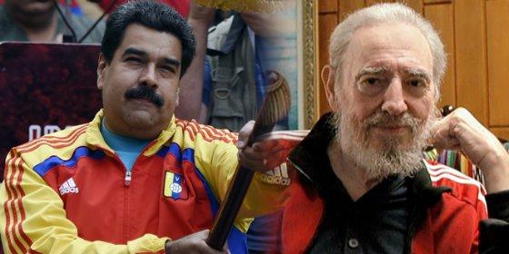 Maduro aúpa a los 'héroes cubanos' para justificar el desplome del 50% en divisas