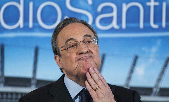 Florentino Pérez se hace un lío con el banquillo del Real Madrid