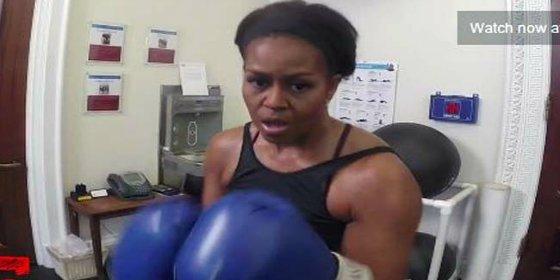 [Vídeo] Los 5 ejercicios secretos de Michelle Obama para no perder la pegada