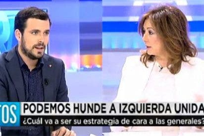 """Ana Rosa avisa a Alberto Garzón: """"Si pierdes las siglas en las generales, Izquierda Unida desaparecerá"""""""