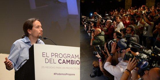 """Ángel Expósito: """"Me huele muy mal que Podemos marcase a los periodistas con una pulsera con los comisarios dando vueltas por ahí"""""""