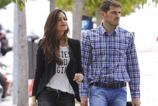 Iker Casillas cumple 34 años con Sara Carbonero y Martín