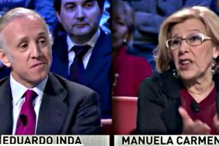 """Eduardo Inda: """"Manuela Carmena me provoca asco moral"""""""
