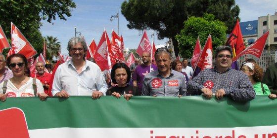 IU Extremadura pide políticas activas de creación de empleo