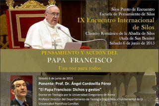 El Papa, protagonista del IX Encuentro Internacional de la Escuela de Pensamiento de Silos