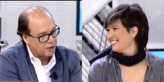 """Jaime González le calla la boquita a Beatriz Talegón: """"Mucha gente de derechas te oye hablar y acaba votando al PP"""""""