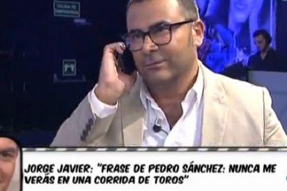 """Luis Balcarce: """"Jorge Javier es un monstruo de la televisión pero a él lo que le gusta es que le llame Pedro Sánchez"""""""