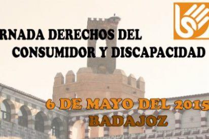 Jornada Derechos del Consumidor y Discapacidad en Badajoz