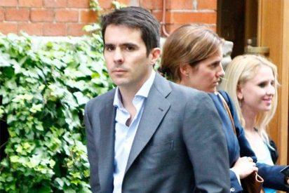 El hijo de José Maria Aznar se va de comida tras las elecciones