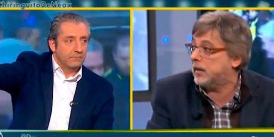 """José Damián González saca su CV para frenar los ataques de Josep Pedrerol: """"¡Un respeto a mi trayectoria profesional!"""""""