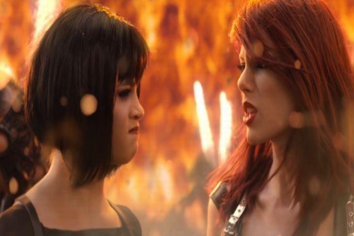 Katy Perry no está ofendida por el vídeo de Taylor Swift