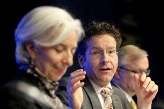 El FMI prepara a los vecinos de Grecia y a sus bancos para un posible default