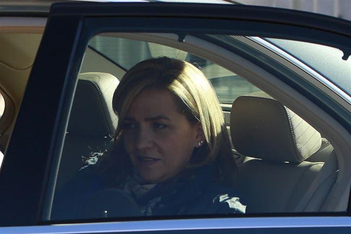 El fiscal pide reducción de la fianza civil de 2,7 millones a 449.500 impuesta a la Infanta Cristina