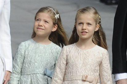 La Princesa de Asturias recibe hoy su Primera Comunión junto a sus compañeros de clase