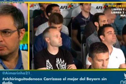 """Lluís Mascaró apunta al presidente de la RFEF: """"El papel de Villar es de mafioso absoluto. No es una huelga, es un chantaje emocional"""""""