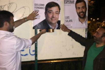 Luis Salaya inicia la campaña electoral en los barrios que Elena Nevado ha olvidado