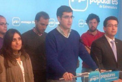 """Luis Francisco Sánchez (NNGG): """"Pedro Sánchez mintió a todos los extremeños"""""""