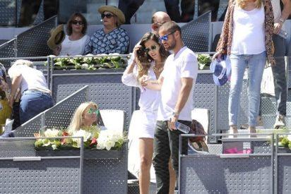 Mario Suárez y Malena Costa, dos enamorados en el tenis