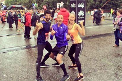 Manuela Velles y Miguel Ángel Muñoz recorren juntos 21 kilómetros