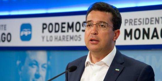 """Manzano (PP): """"Hoy es el primer día de trabajo para intentar ganar de nuevo la confianza de todos los extremeños"""""""
